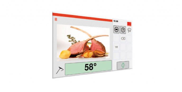 Grandioos gebruik gemak, intuïtief als een tablet. De bediening van de nieuwe Salvis machines werkt zo intuïtief als een tablet. Met slechts twee vingertoppen kunt u de belangrijkste processen opvragen, instellen en controleren.